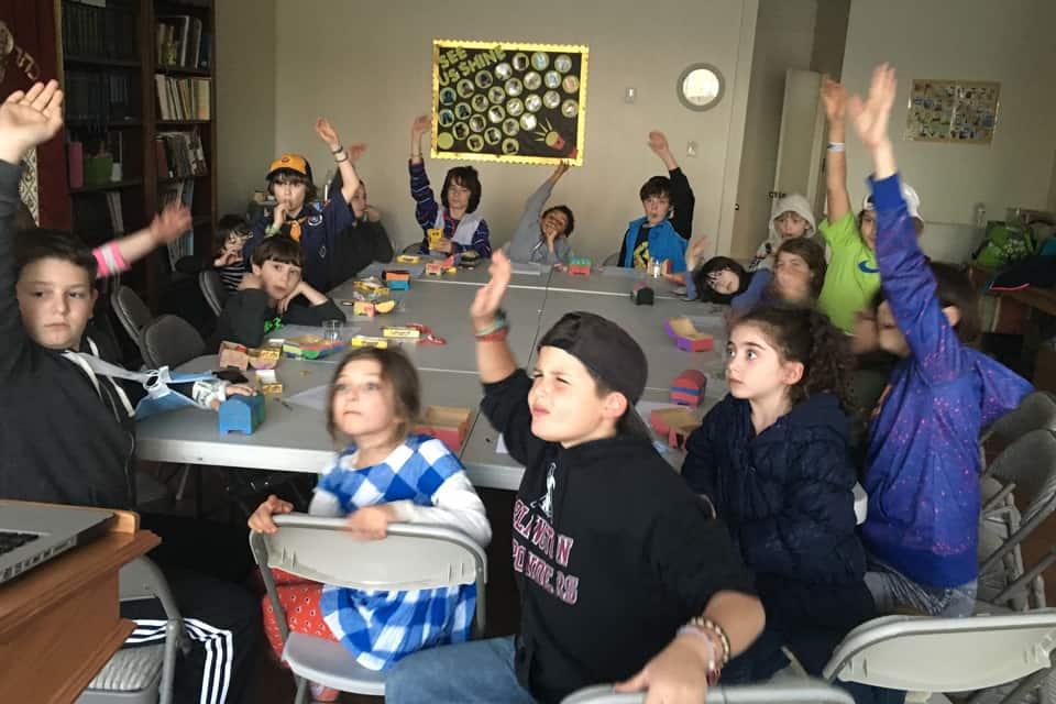Kids Participating