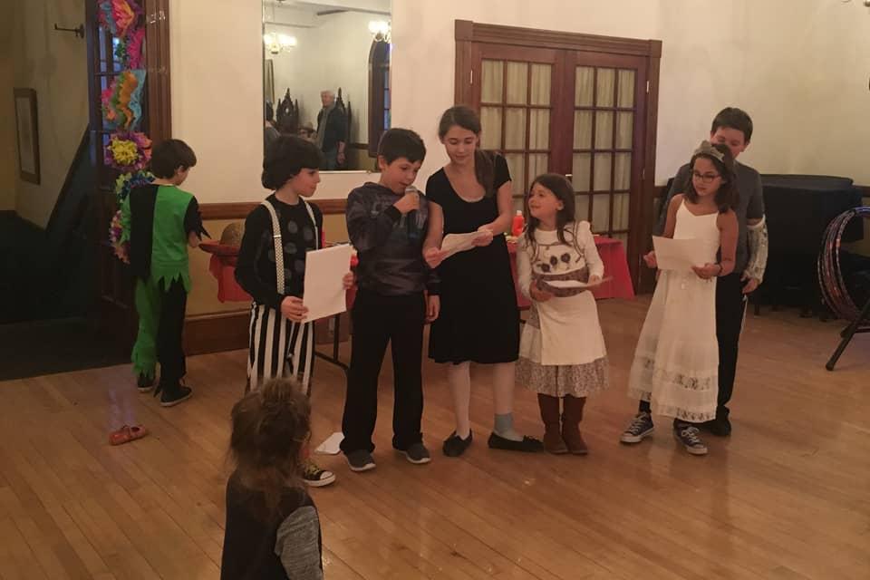 Kids Reciting
